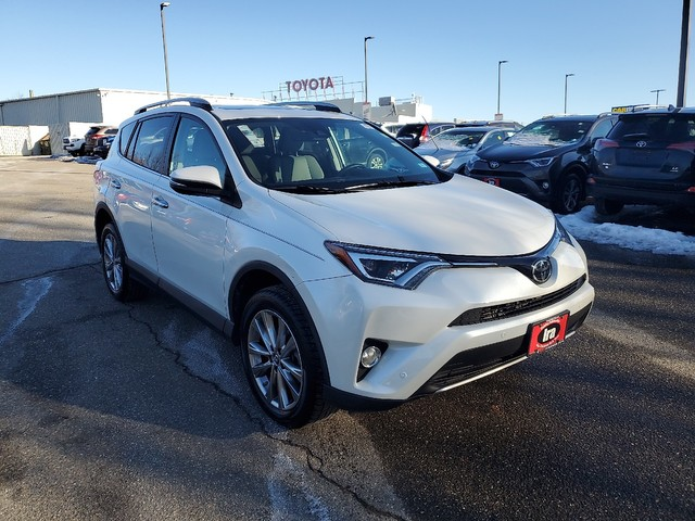 Certified Pre-Owned 2017 Toyota RAV4 Limited **RED HOT DEAL!**