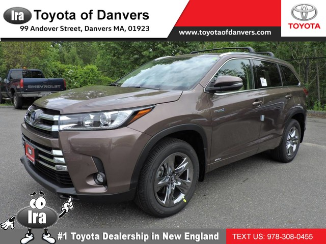 New 2019 Toyota Highlander Hybrid Hybrid Limited