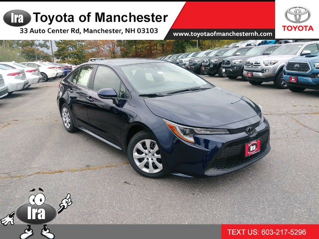 New 2020 Toyota Corolla LE CVT Front Wheel Drive Sedan - In-Stock