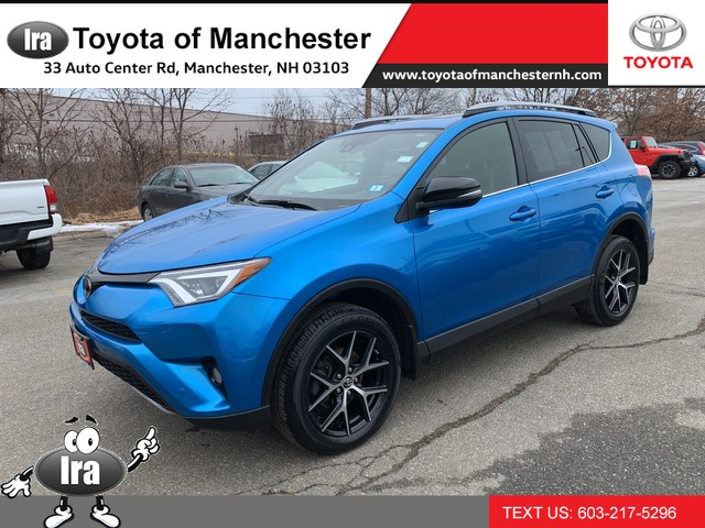 Certified Pre-Owned 2017 Toyota RAV4 SE W/ BIRD'S EYE VIEW **RED HOT DEAL!**