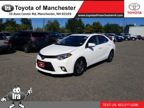 Certified Pre-Owned 2016 Toyota Corolla LE Plus Front Wheel Drive Sedan
