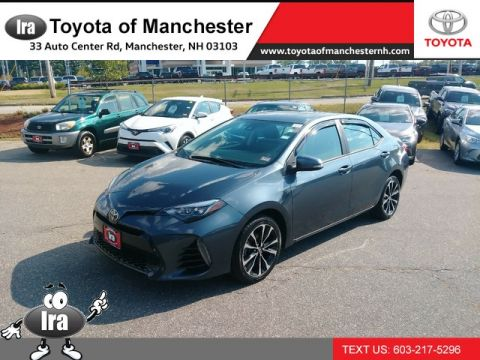 Certified Pre-Owned 2017 Toyota Corolla XSE Front Wheel Drive Sedan
