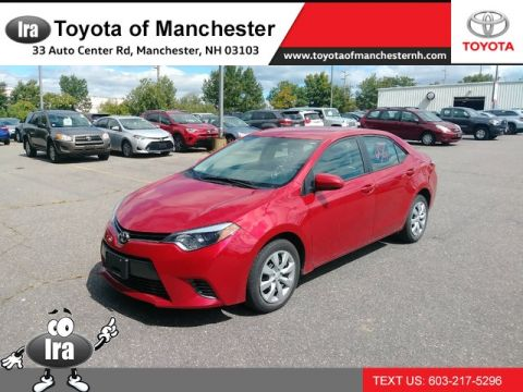 Certified Pre-Owned 2016 Toyota Corolla LE Front Wheel Drive Sedan