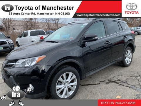 Certified Pre-Owned 2015 Toyota RAV4 Limited **RED HOT DEAL!**
