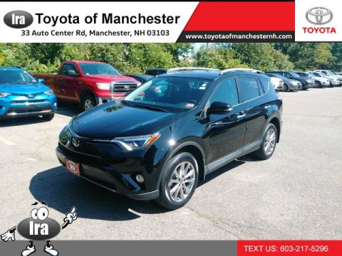 Certified Pre-Owned 2017 Toyota RAV4 Limited All Wheel Drive SUV
