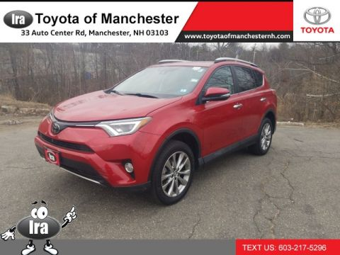 Certified Pre-Owned 2016 Toyota RAV4 Limited **RED HOT DEAL!**