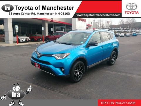 Certified Pre-Owned 2017 Toyota RAV4 SE **RED HOT DEAL!**
