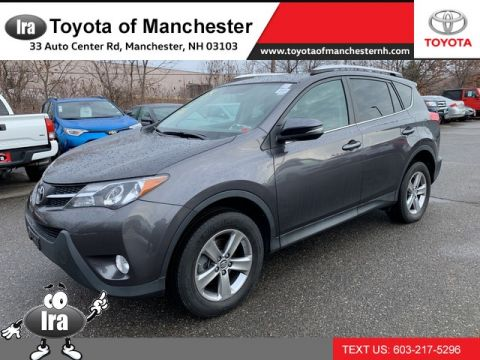 Certified Pre-Owned 2015 Toyota RAV4 XLE **RED HOT DEAL!**