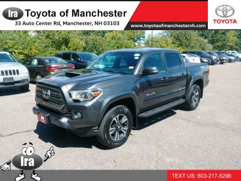 Certified Pre-Owned 2017 Toyota Tacoma TRD Sport Four Wheel Drive Pickup Truck