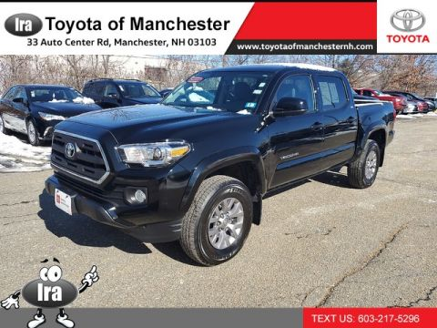 Certified Pre-Owned 2017 Toyota Tacoma SR5 *DOUBLE CAB!