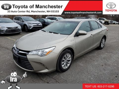 Certified Pre-Owned 2017 Toyota Camry Hybrid LE **RED HOT DEAL!**