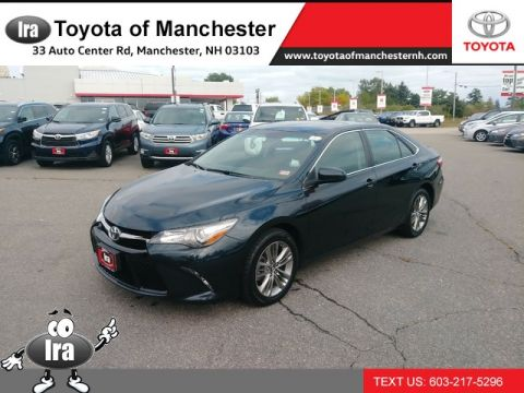 Certified Pre-Owned 2017 Toyota Camry SE Front Wheel Drive Sedan