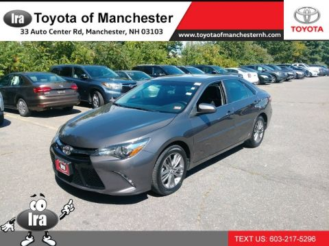 Certified Pre-Owned 2016 Toyota Camry SE Front Wheel Drive Sedan