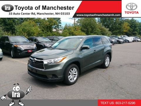 Certified Pre-Owned 2016 Toyota Highlander LE All Wheel Drive SUV