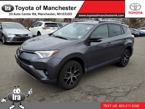 Certified Pre-Owned 2017 Toyota RAV4 SE *ADVANCED TECHNOLOGY PACKAGE **RED HOT DEAL!**