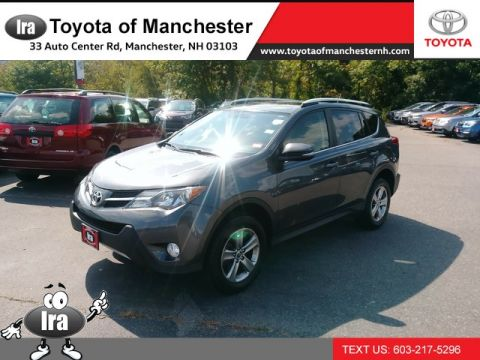 Certified Pre-Owned 2015 Toyota RAV4 XLE All Wheel Drive SUV