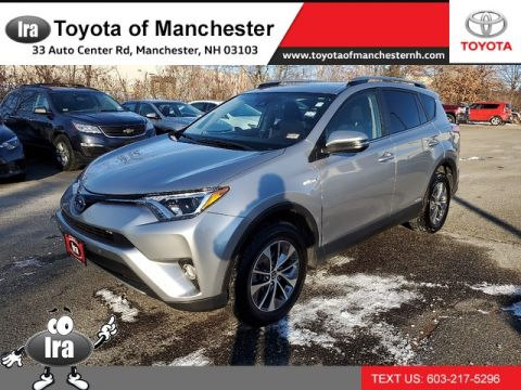 Certified Pre-Owned 2017 Toyota RAV4 Hybrid XLE **RED HOT DEAL!**